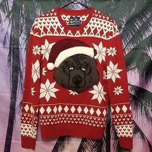 Adorable Santa Bear Christmas Sweater!!
